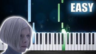 AURORA - Runaway - EASY Piano Tutorial by PlutaX