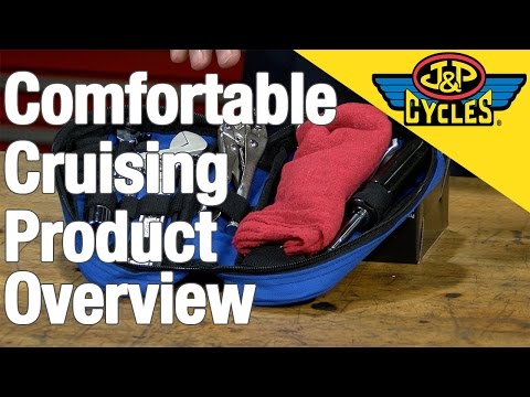Comfort Cruising Products For Long Distance Motorcycle Riding