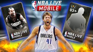 MASSIVE LEGENDARY PACK OPENING + INSANE 96 OVR LEGEND PULL!!! NBA LIVE MOBILE PACK OPENING