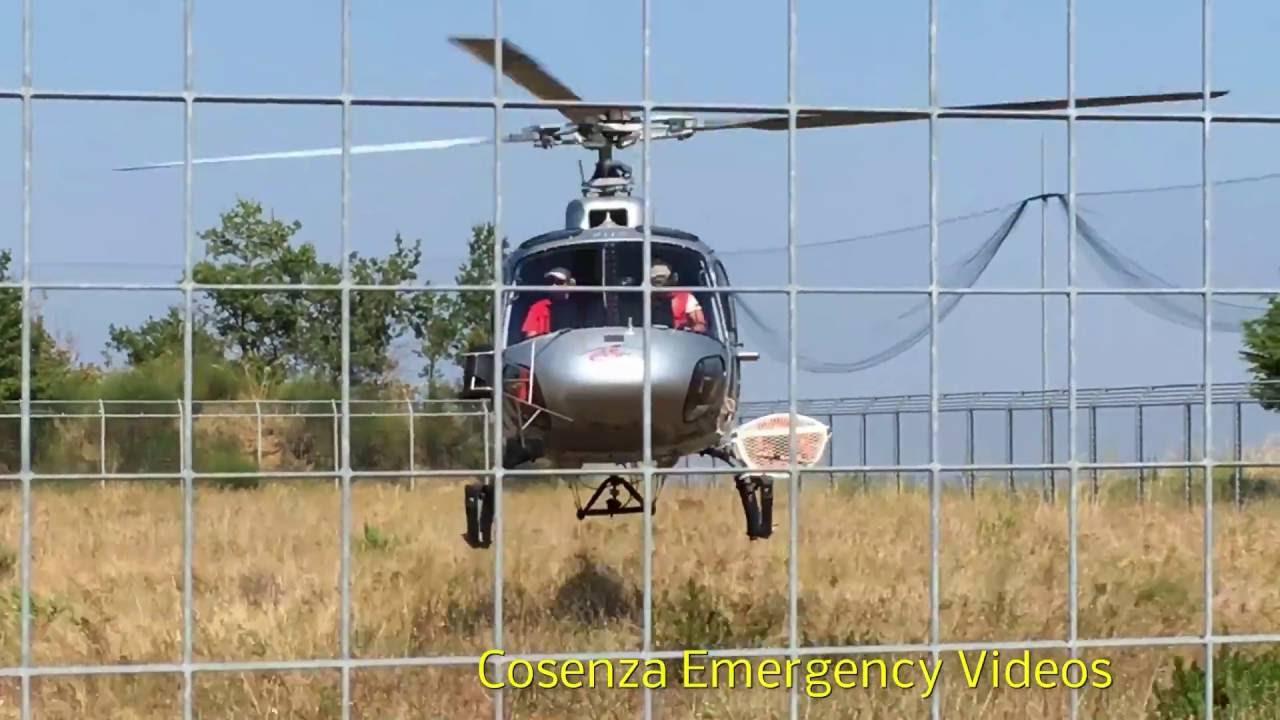 Elicottero Verde : Special ° atterraggio elicottero calabria verde e