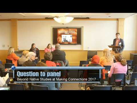 AM3 - Beyond native studies - Question to panel