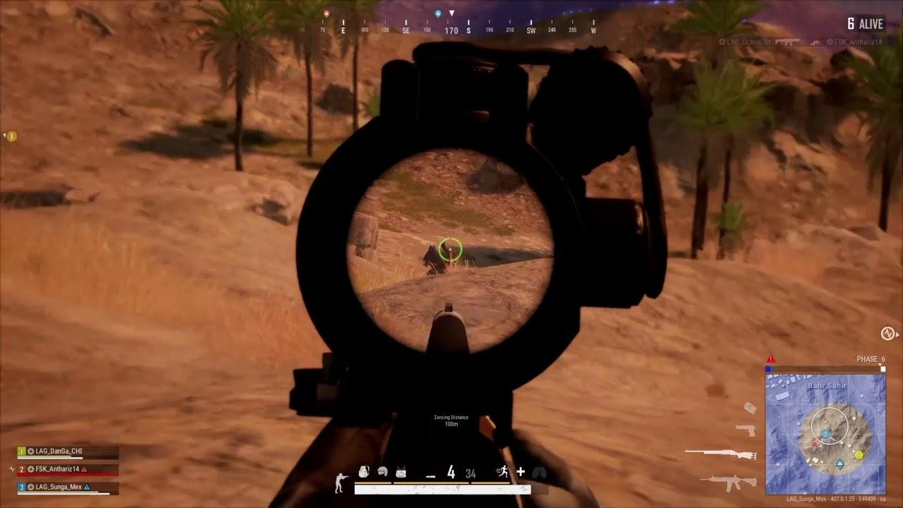PUBG PS4 Final Circles Karakin - YouTube