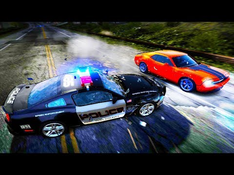 THE MOST INSANE POLICE CHASE EVER! SPIKE STRIPS, EMP's & MORE! -  Need for Speed Hot Pursuit