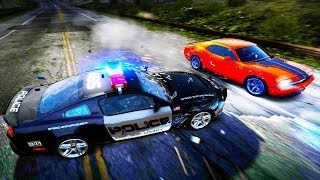 THE MOST INSANE POLICE CHASE EVER! SPIKE STRIPS, EMP