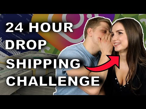 My Girlfriend Tried Dropshipping For 24 Hours thumbnail