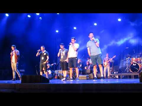 Celtic Thunder Sound check from CTClll A Place in the Choir