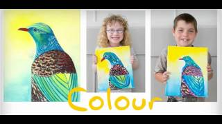 New Zealand Drawing school for kids.Learn How to Draw and Paint Realistically and Creatively!