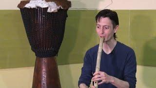 Мастер-класc. Этническая музыка - флейта 2 часть.