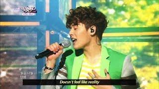 [Music Bank w/ Eng Lyrics] ZE:A X FIVE - The Day We Broke Up (2013.04.27)