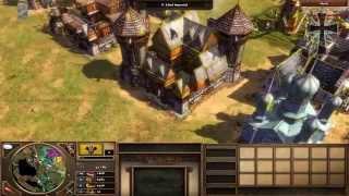Age of Empires III - 7ª Partida Multijugador - Lucho, Alan y Fede