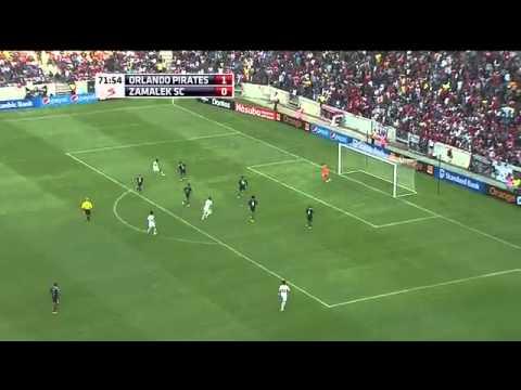 Zamalek vs Orlando Pirates  (2-1)   11- 7- 2015