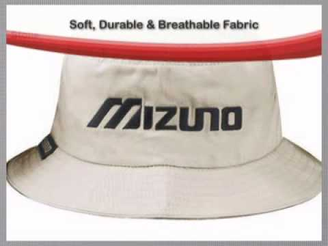 Mizuno Golf Tour Bucket Hat - YouTube da5ec1b2633