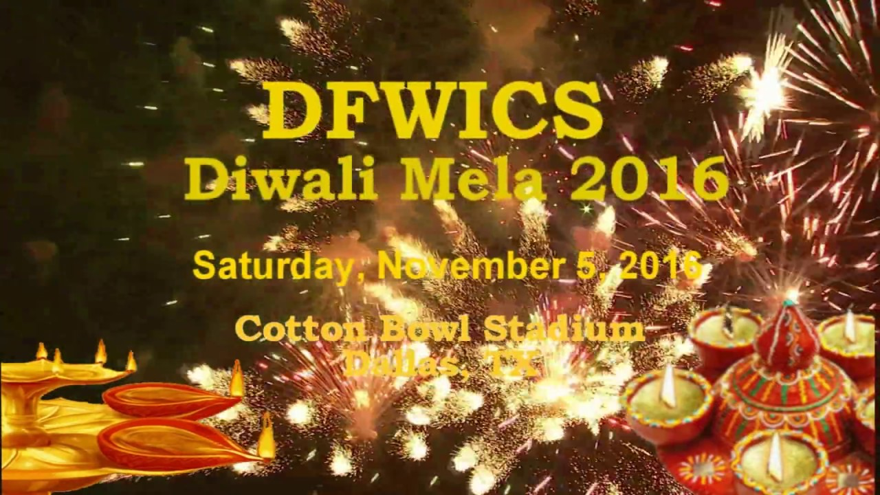 Diwali Mela - 2016 celebrations at Cotton Bowl Stadium, Dallas, TX.