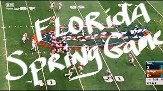 Florida Spring Game - Mullen offensive basics