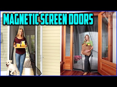 Top 5 Best Magnetic Screen Doors In 2020 Reviews