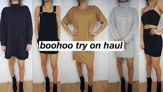 huge $500 boohoo try on haul, fall/winter outfit ideas, and GIVEAWAY   kylie aaliyah