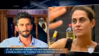 """Marcos Harter no """"Domingo Show"""" - Parte 2"""