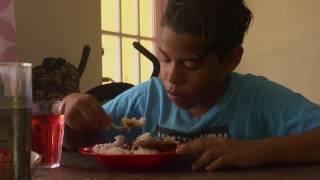 Joel (12) laat het leven op Bonaire zien
