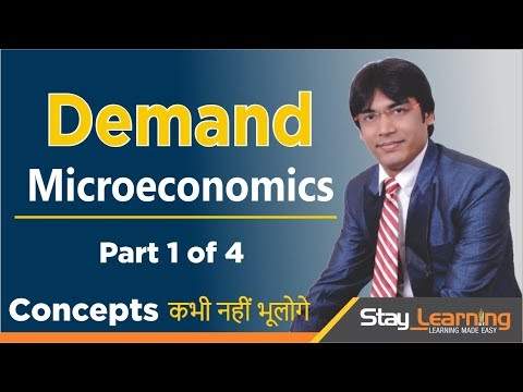 Demand - Part 1 of 4 Economics Class XII (CBSE) by Vijay Adarsh (StayLearning)