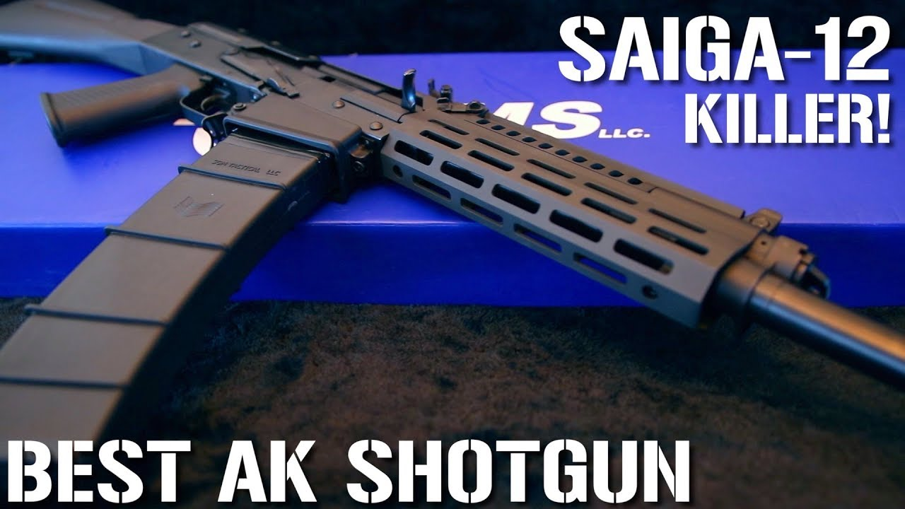 BETTER than a Saiga-12 or Vepr-12   for HALF the PRICE!!!! (IARMS EM12B  review)