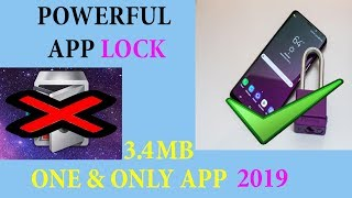 Most Powerful App Lock One & Only In 3.4MB Must Watch🔥🔥
