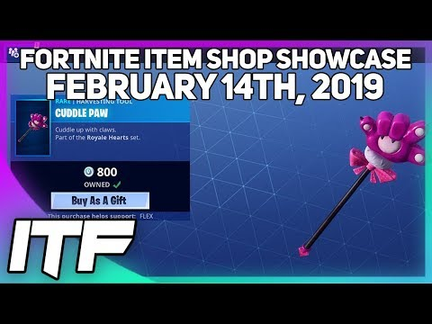 Fortnite Item Shop VALENTINES DAY SHOP!! [February 14th, 2019] (Fortnite Battle Royale)