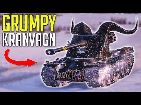 Grumpy Kranvagn's Beast Mode ► World of Tanks Kranvagn Gameplay thumbnail