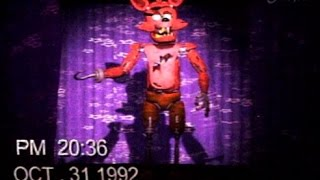 FNAF Halloween Party Show Tape Foxy 1992