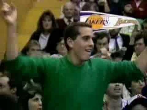 NBA on TBS - Lakers at Celtics, December 1987 - 2/3