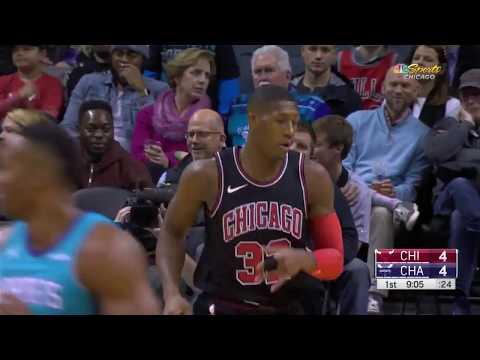Kris Dunn Highlights 2017.12.08 vs Charlotte Hornets. 20 Pts, 12 Ast, 6 Reb, 3 Stl!