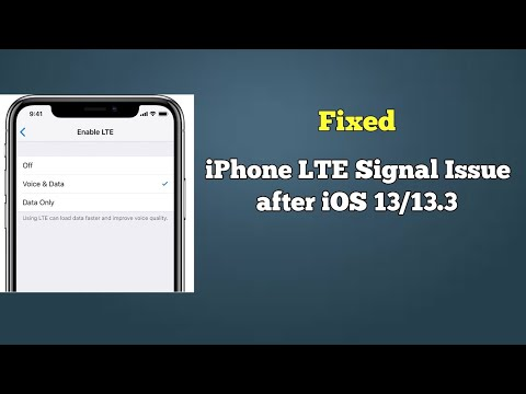 How To Fix LTE Issue On IPhone 11, 11 Pro, 11 Pro Max, XS, XS Max, XR, X, 8 And 7 In IOS 13/13.3