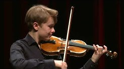 OTTO ANTIKAINEN / Menuhin Competition, Senior first rounds - day 2