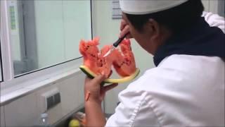RongFa Shu Dragon curving watermelon