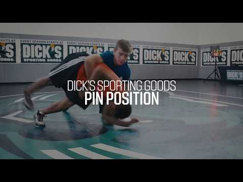 Wrestling 101: Pin Position | PRO TIPS by DICK'S Sporting Goods