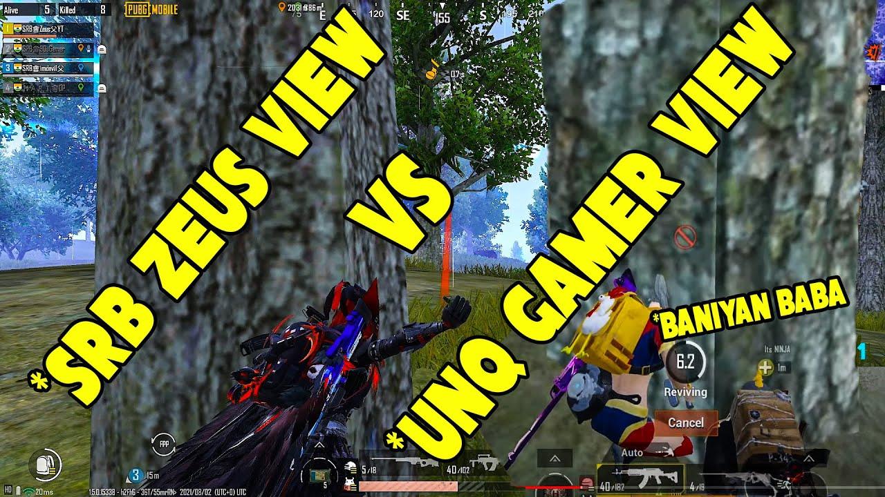 UNQ Gamer , Its Ninja , The Chief Vs SRB Zeus , SRB 90s , SRB Devil