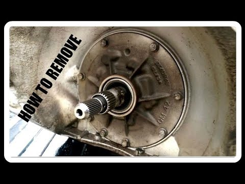 Th350 Turbo 350 | Front Pump And Pan Removal | NO FANCY TOOLS NEEDED! | How  To