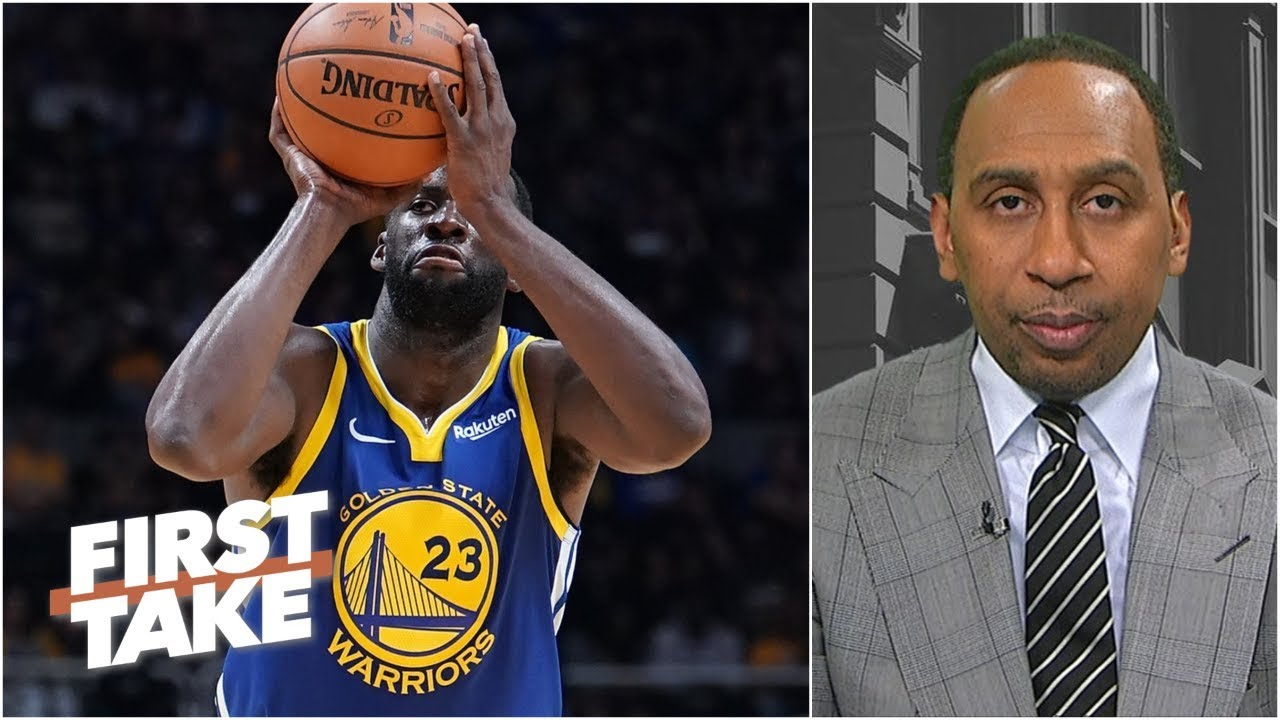 Warriors won't win title if Draymond Green keeps missing shots - Stephen A. | First Take