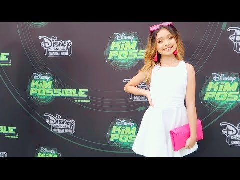 GRWM Kim possible Disney Movie Premiere | Red Carpet Special