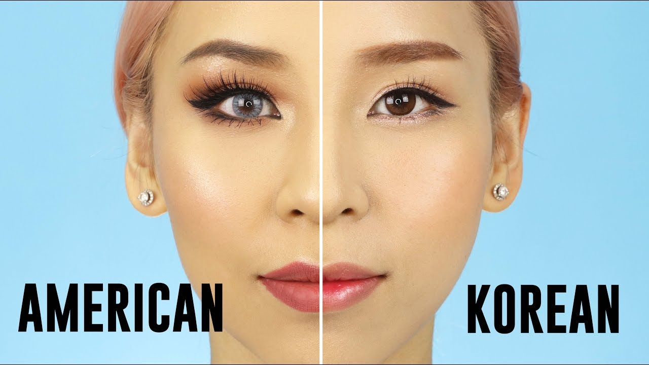 American VS Korean Style Makeup – 2017