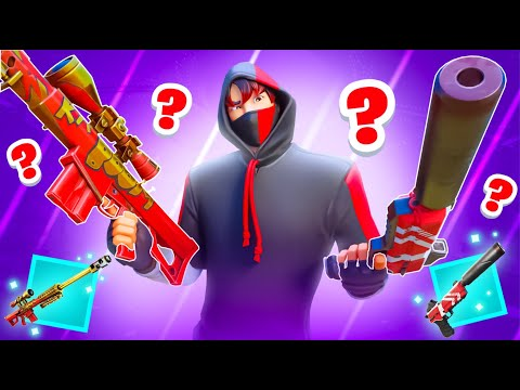 Weapons you FORGOT are in Fortnite…