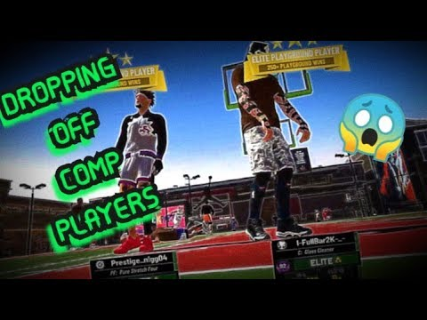 DROPPING OFF COMP PLAYERS IN NBA 2K19 | BEST Rebounding Athletic Finisher