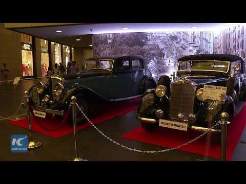 Classic car show in Beirut