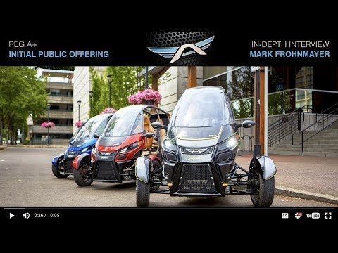 Arcimoto Reg A+ Initial Public Offering - Interview