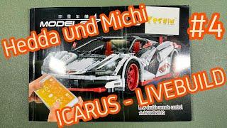 MouldKing Icarus Set 13067 - Livebuild mit Hedda - 4. Teil