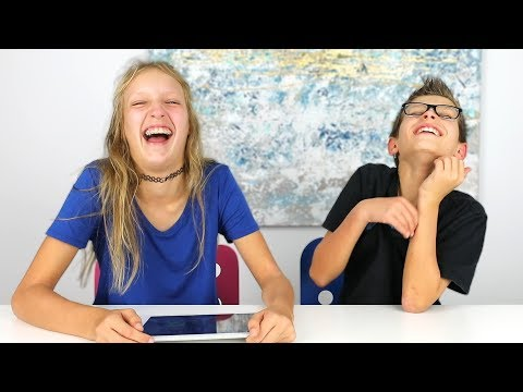 REACTING TO OUR OLD VIDEOS!!!