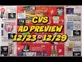 CVS AD PREVIEW 12/23 - 12/29 | Moneymaker makeup this week again!