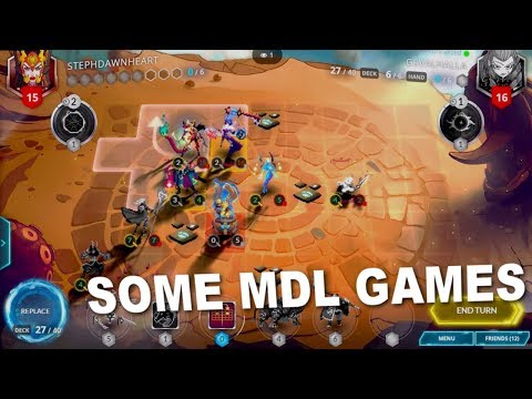 Duelyst: Some MDL Games (No Commentary)