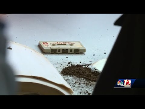 Inside the Thruway time capsule