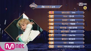 Video What are the TOP10 Songs in 4th week of September? M COUNTDOWN 170928 EP.543 download MP3, 3GP, MP4, WEBM, AVI, FLV November 2017