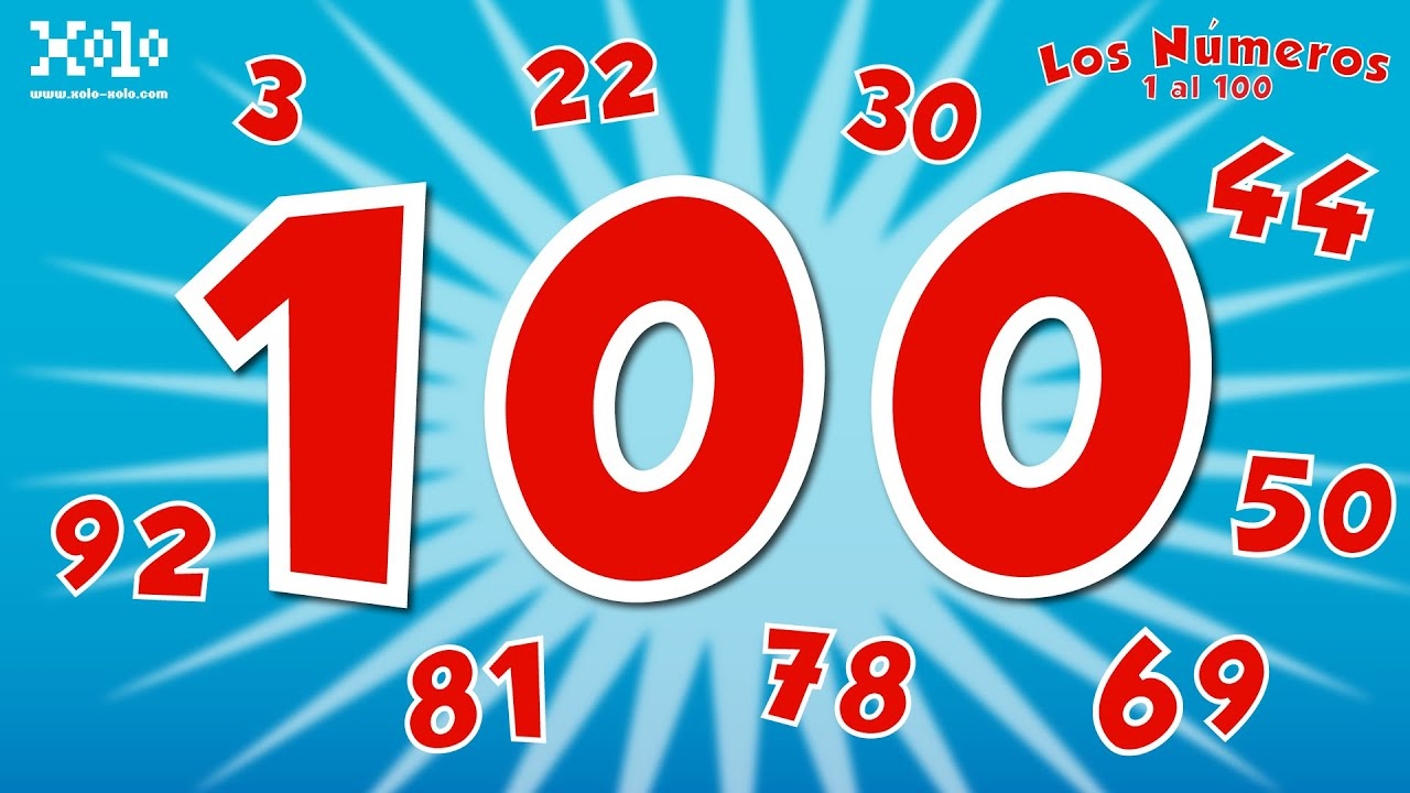 The Numbers 1 To 100 In Spanish For Children Learn Videos